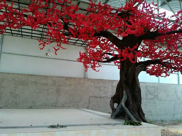 大型仿真花树榕树