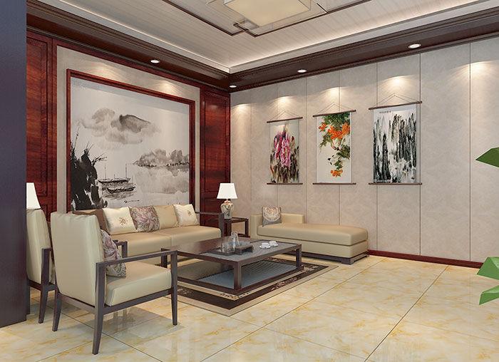 长沙护墙板会客室