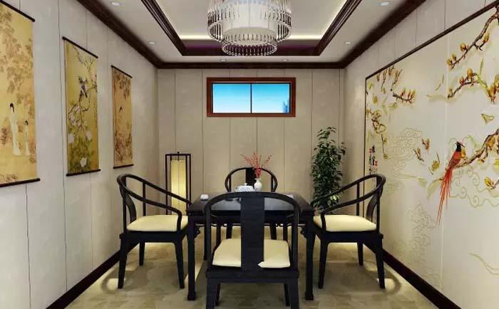 湖南集成墙板茶室