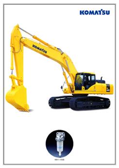 KOMATSU挖掘机
