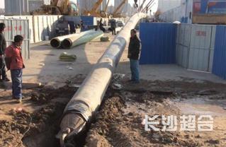 燃气钢管施工案例