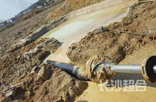 非开挖拉管施工案例