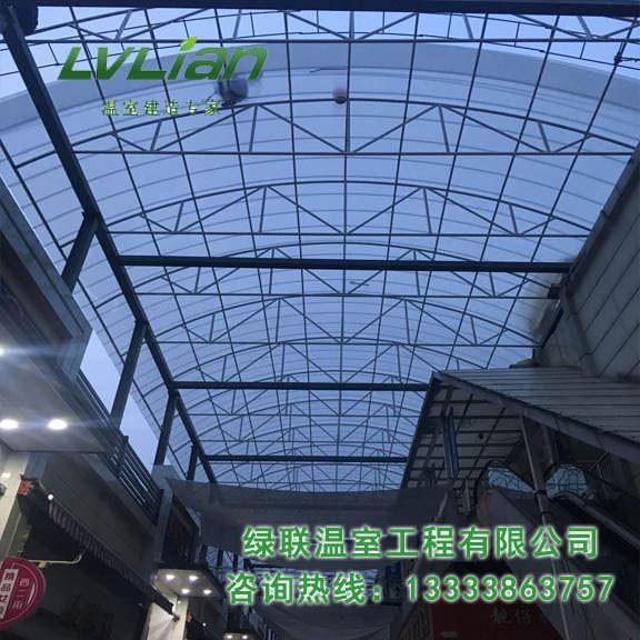 郑州锦荣商贸城通道