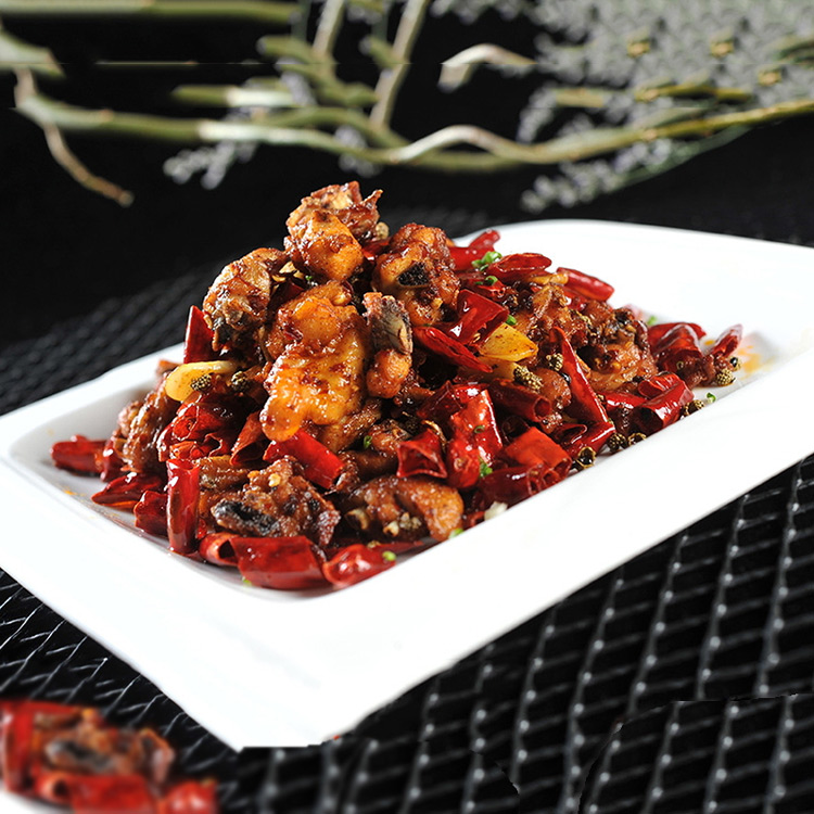 川菜代表菜——辣子鸡