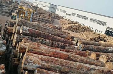 唐山天林建筑木方是怎样处理的原木