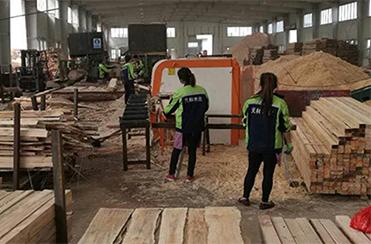 唐山天林木业引入新设备
