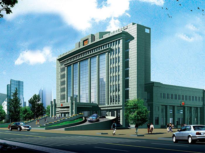 天津市东丽区人民法院审判综合楼