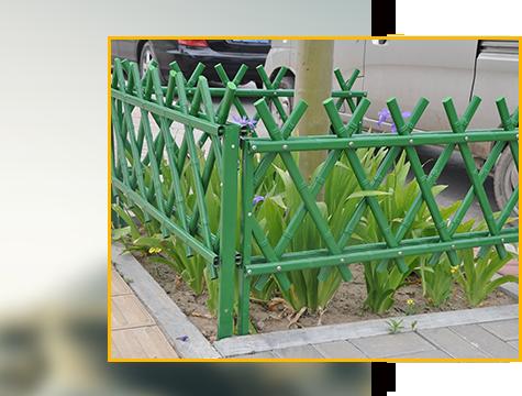 竹园艺与竹篱笆的应用方式