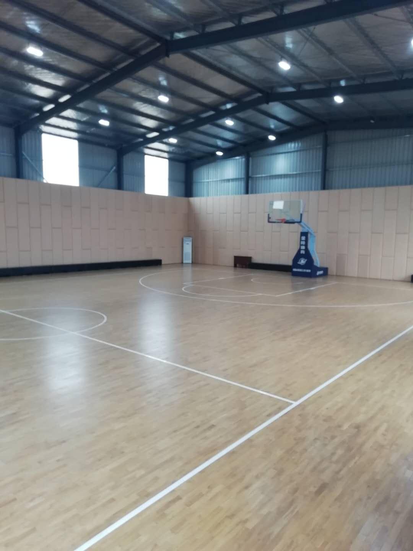 港区中铁十六局项目部篮球场