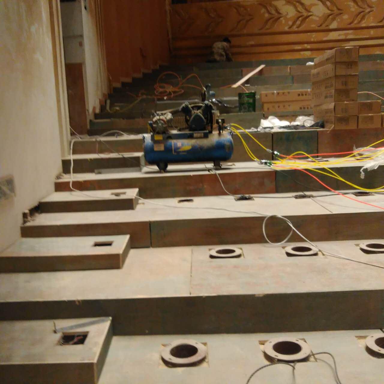 唐山大剧院舞台及看台地板4200平