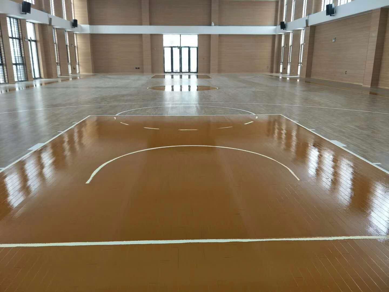 郑州龙翼二小篮球馆