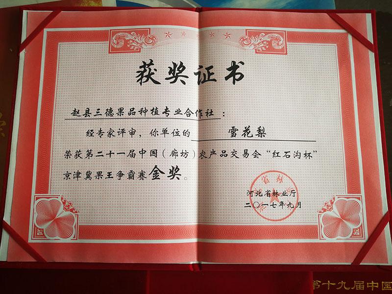 """第二十一届中国(廊坊)农产品交易会""""红石"""