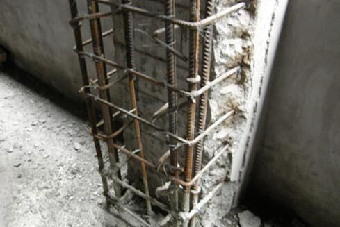 柱子植筋加固