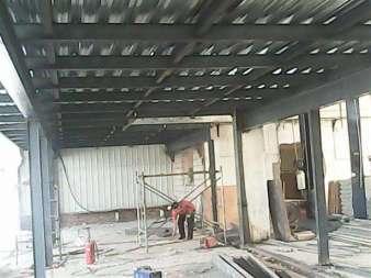 钢结构制作搭建
