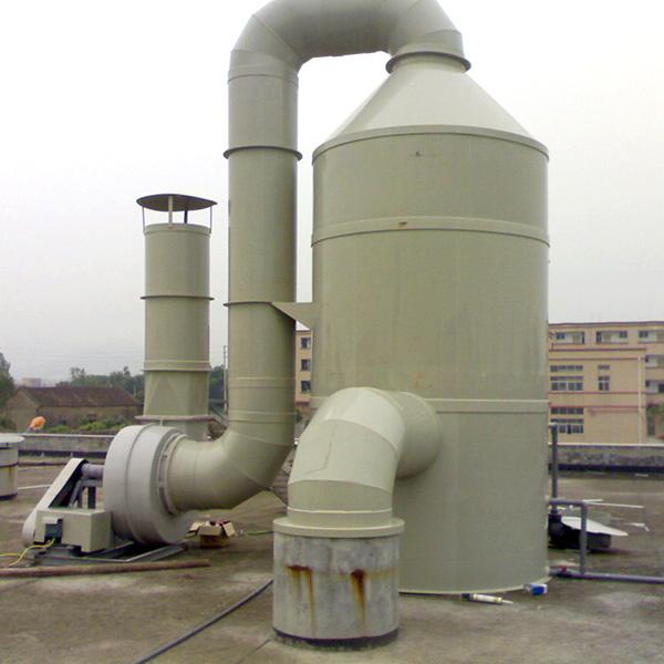 烟气脱硫塔工作原理及其优势