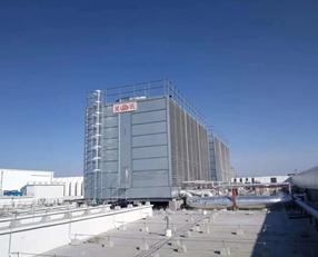 PL系列方形横流式全钢型冷却塔