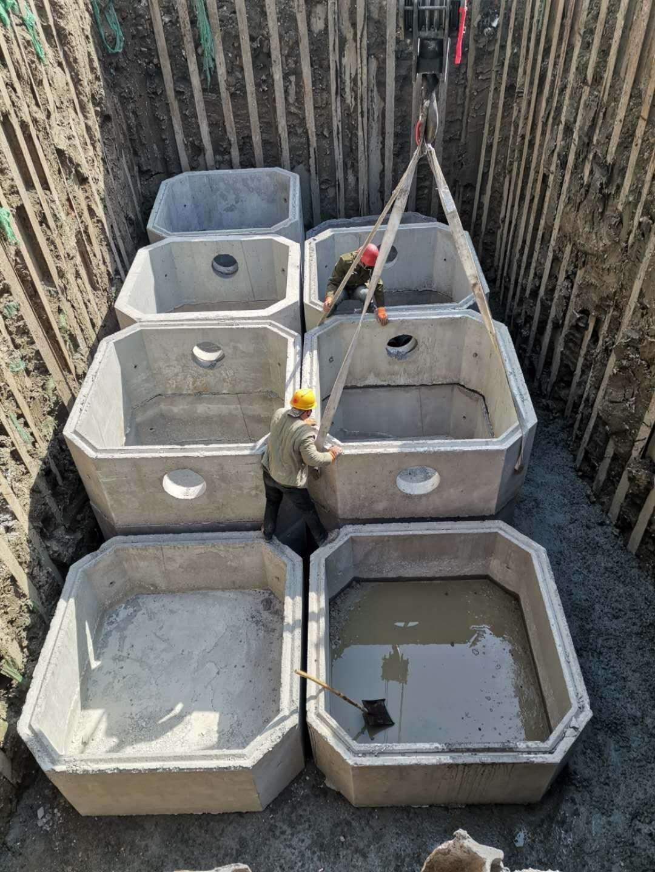 天津钢筋混凝土化粪池:水泥化粪池安装说明(东津水泥构件)