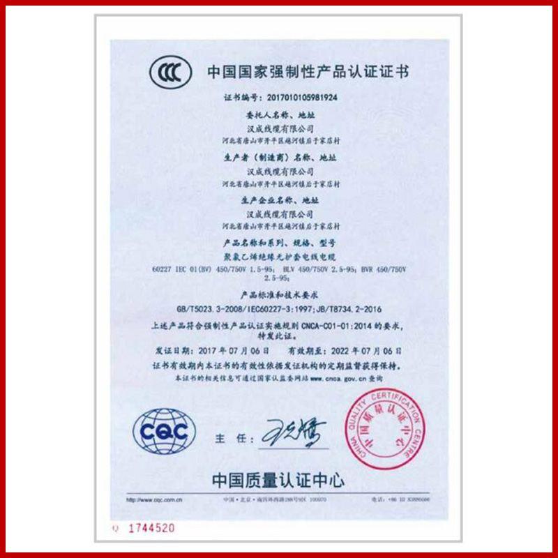 中国国家强制性产品认