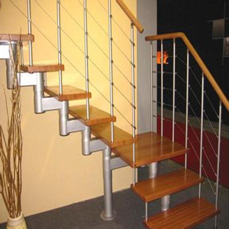 钢木楼梯-11