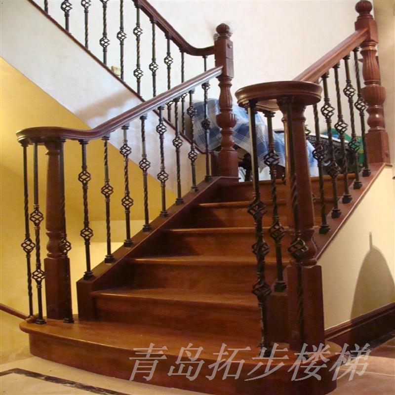 实木楼梯-15