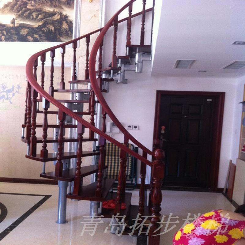 青岛钢木楼梯