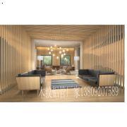 优质工装环保材料走道装饰木纹铝板 走廊仿木纹天花 木纹铝方通 铝单板政府大力推广
