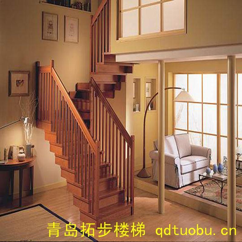青岛楼梯,实木楼梯