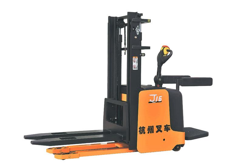 J系列1-2吨电动堆垛车(站驾)