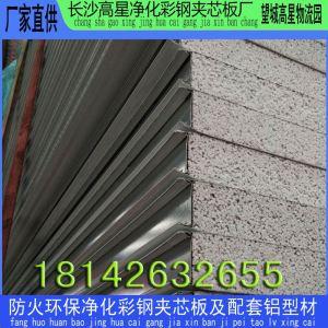 长沙硅岩夹芯板 净化工程用硅岩夹芯板 A级防火硅岩板 硅岩板生产厂家