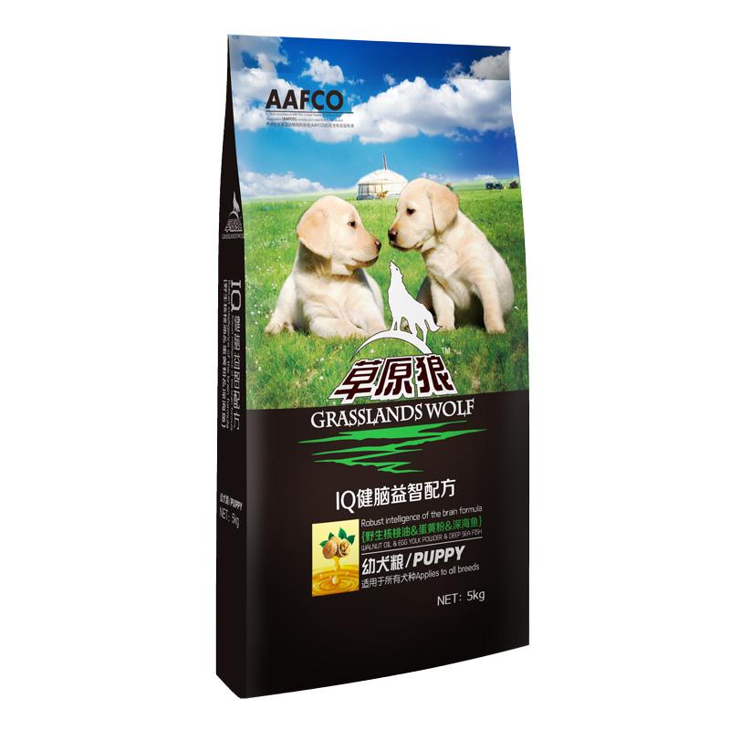 草原狼幼犬粮5kg