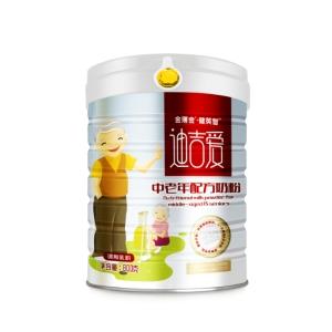 健英智迪吉爱中老年配方奶粉