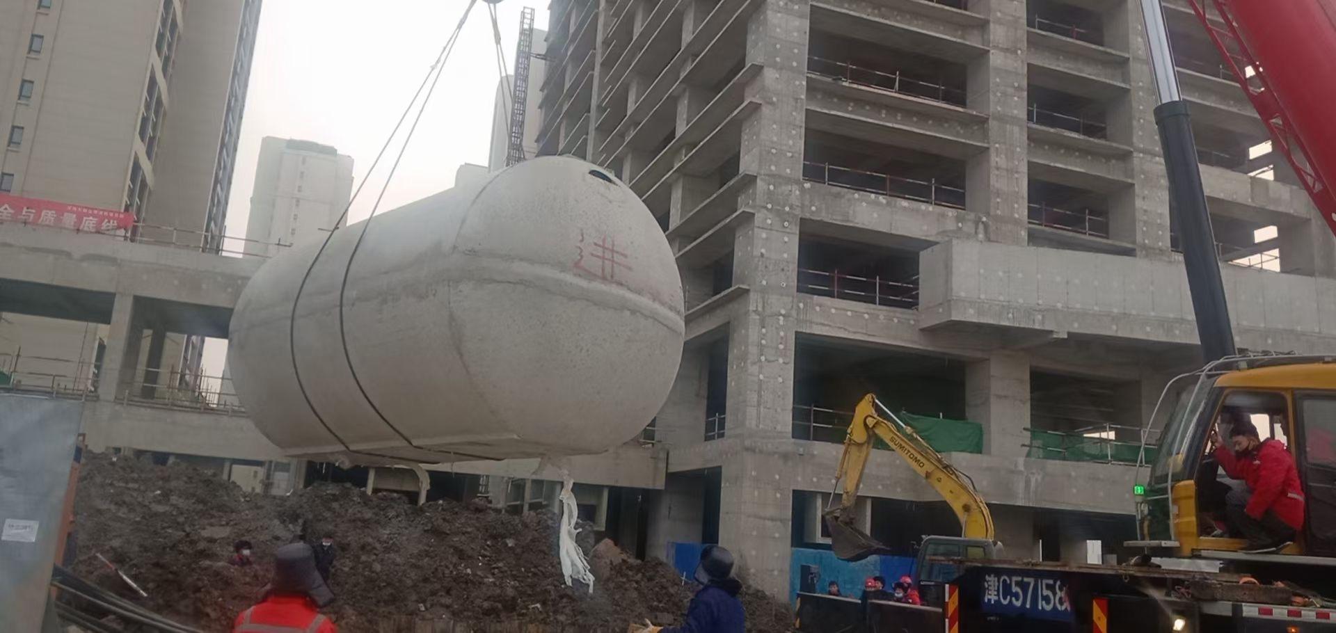 天津整体商砼化粪池