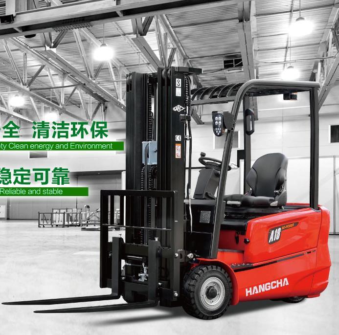 A系列1.3-2.0吨三支点蓄电池叉车 唐山锂电池叉车 新能源叉车
