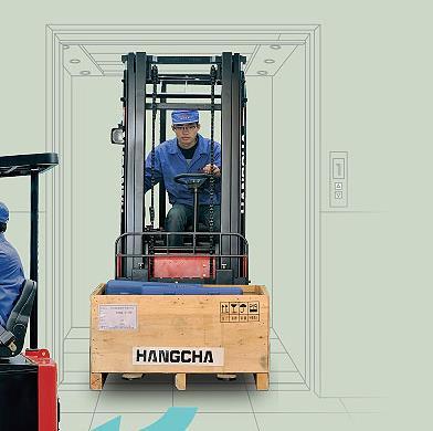 0.75-0.99吨迷你电叉 唐山锂电池叉车 新能源叉车