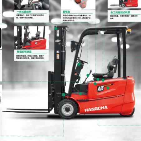 2.5-3.5吨A系列高性能电叉 唐山锂电池叉车 新能源叉车
