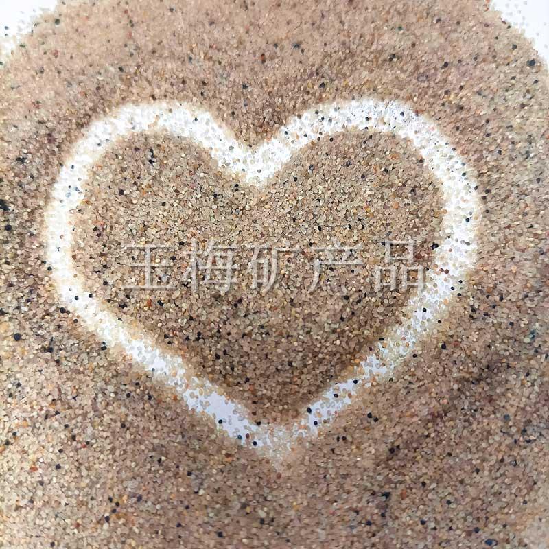 吉林圆粒砂