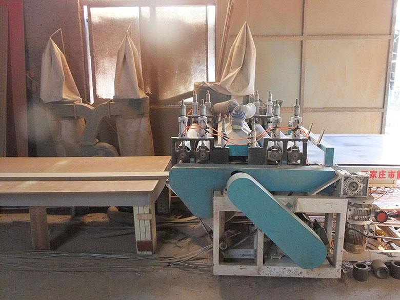 石家庄木质吸音板设备展示