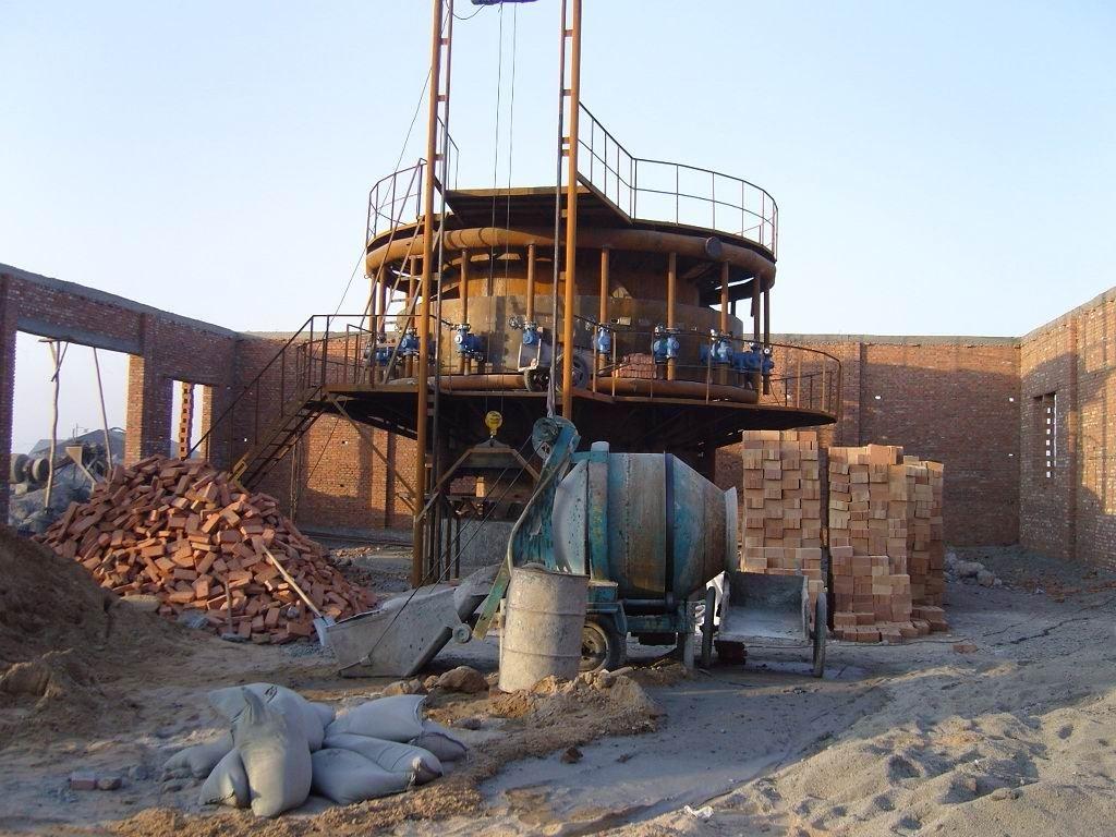 陕西球团竖炉建设