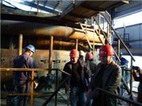 山西球团竖炉施工
